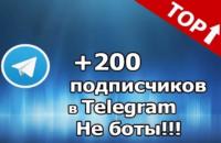 Как набрать первых 200 подписчиков в телеграмм